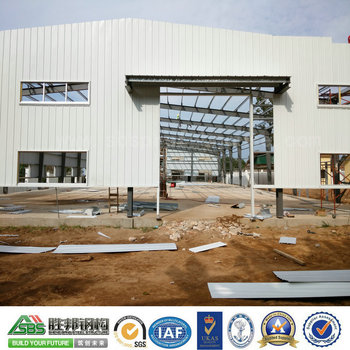 High Quality Prefabricated Industrial Steel Warehouse Metal Building