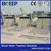 Sewage liquid solid separate mechanical fine screen