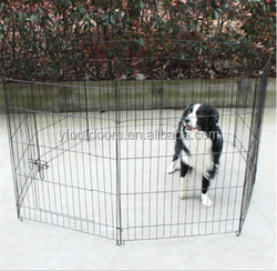 Eco-friendly outdoor dog fence
