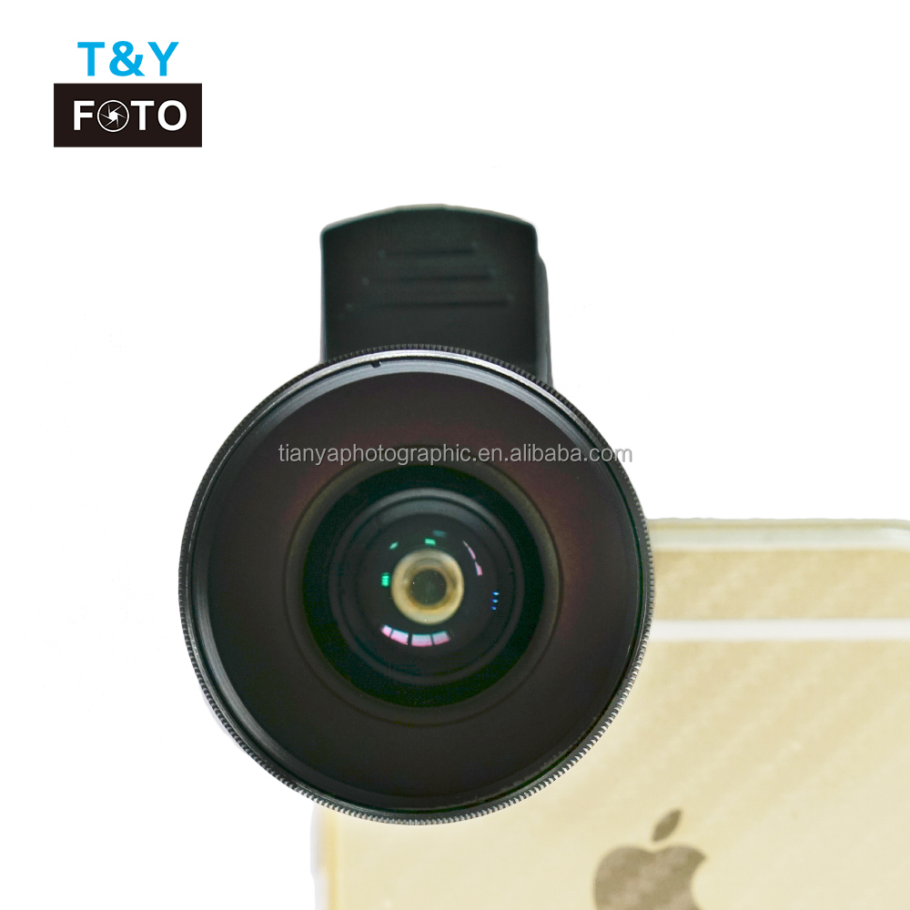 Universal 2 in1 Macro Wide Angle cell phone camera lens clip on phone lens kit