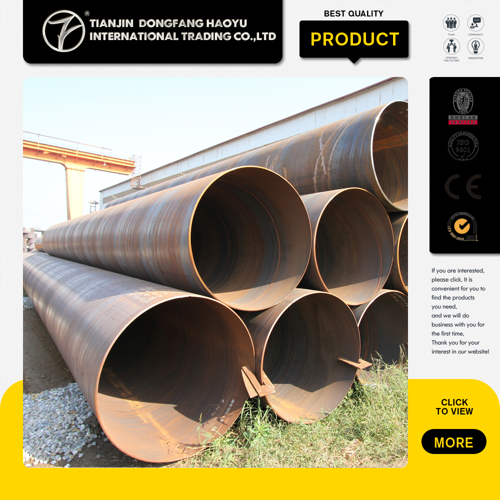SAW Oil Pipe Spiral Steel Pipe Chinese Manufacturer Looking for Distributors