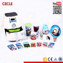 Portable heat press subliming oven 3d for sublimation printing