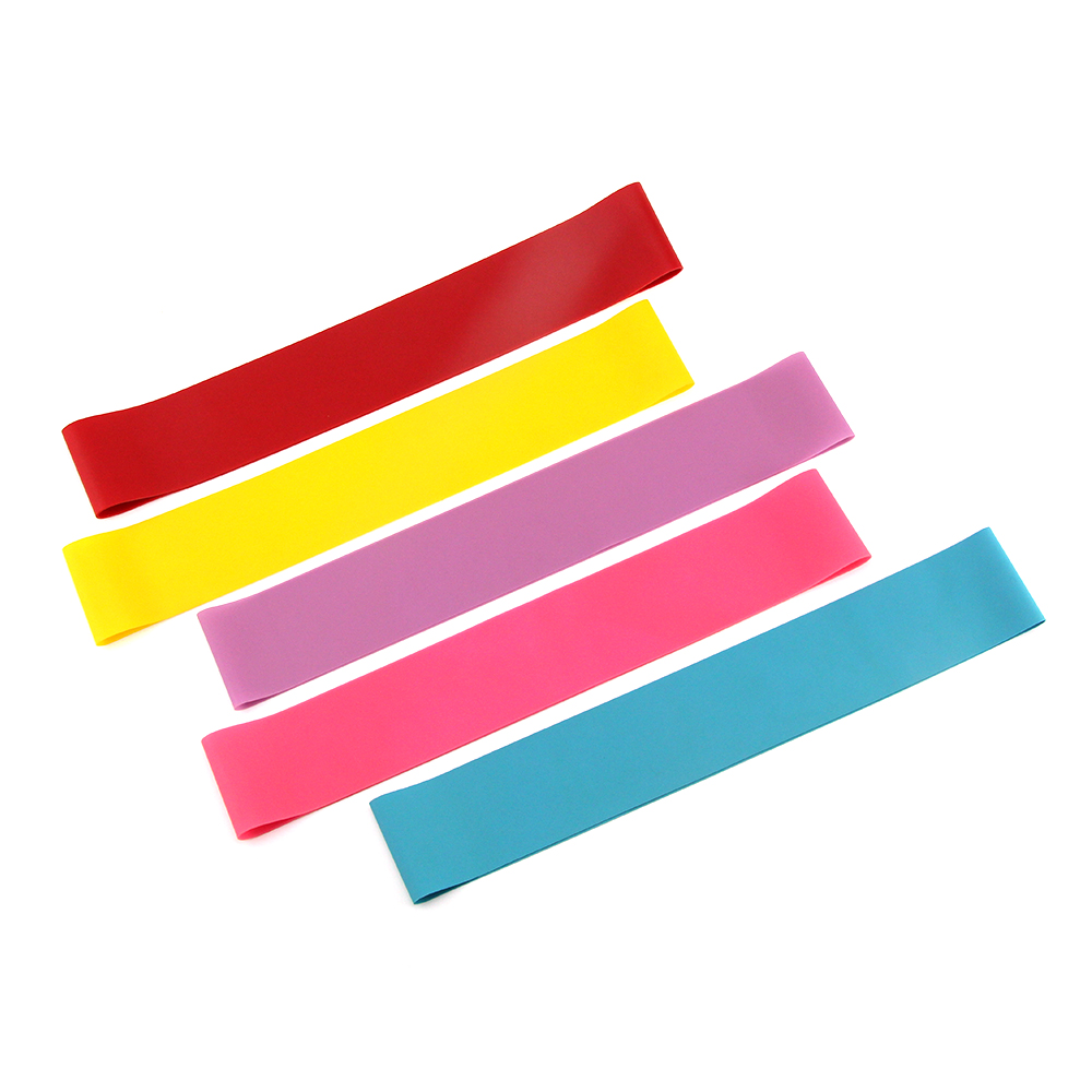 Natural Latex Wholesale Mini Yoga Loop Bands for Exercise <strong>Fitness</strong>