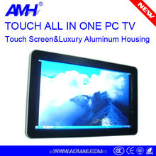 32 inch wall hanging 3g wifi network cheap touch all in one pc