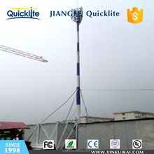 Microwave television antenna tower communication tower