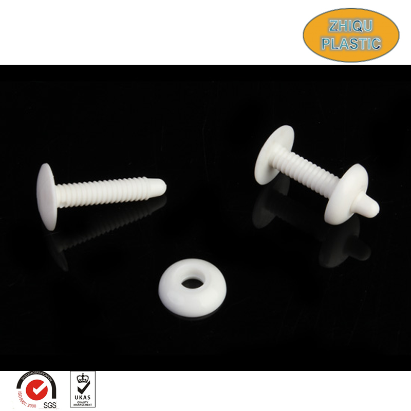 Factory professional manufacture durabe and practical small plastic male and female screws and nuts