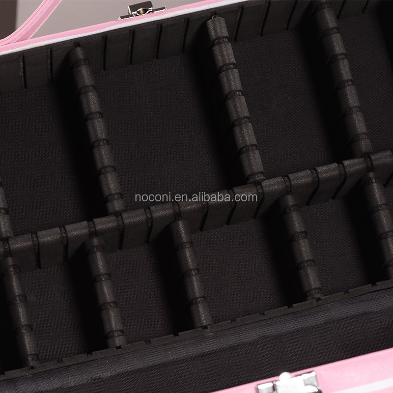 noconi China Wholesale Aluminum Beauty Cosmetic Case for Makeup 2017