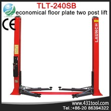 Reliable and portable Launch TLT240SB 2 post hydrolic mobile car lifting equipment ramps