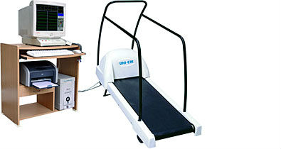 Treadmill test in Gym Equipment