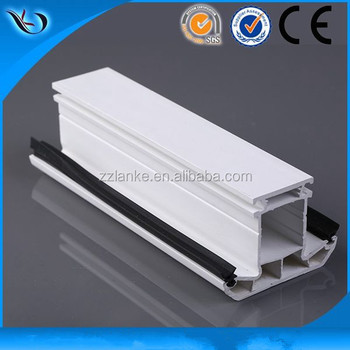 Lanke factory sell pvc window frame profiles/famous upvc profile manufacturers