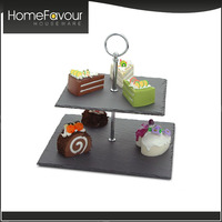 Numerous Invention Patents Factory Custom Logo 3-layer Cake Stand
