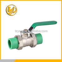 CE ISO9001 Approved Forged PPR Brass Ball Valve For Water And Gas