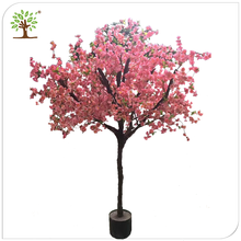 White Indoor led Wedding artificial cherry plants and trees,outdoor lighted Artificial flower Cherry Blossom Tree plants