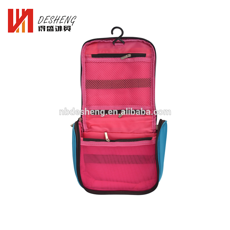 Cheap Hanging Cosmetic Travel Kit Organizer Waterproof Pouch Toiletry Bag