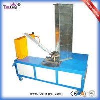 Corner auto assembly machine for rectangular duct