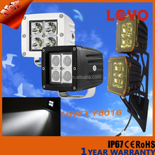 auto parts off road led driving light for trucks led work light with ce rohs ip67 16w led spot light