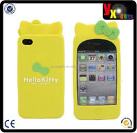 Silicone TPU Frame Bumper case Metal Button Cover
