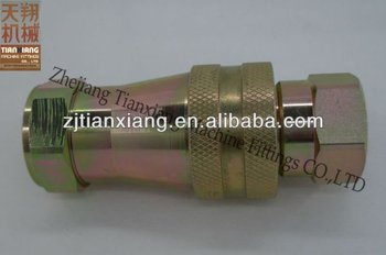 CNC Machine Made Hydraulic Quick Coupling Hose Fittings