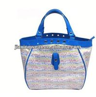 Fashion tapestry shoulder bags for shopping and promotiom,good quality fast delivery