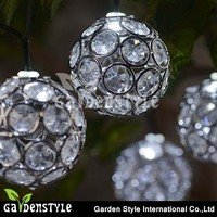 Crystal Solar String Light Party Outdoor