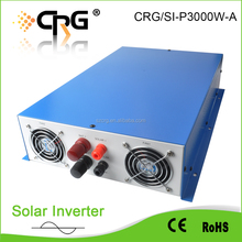 CRG 3kw off grid Dc To Ac Pure Sine Wave Solar Power Inverter with battery charger