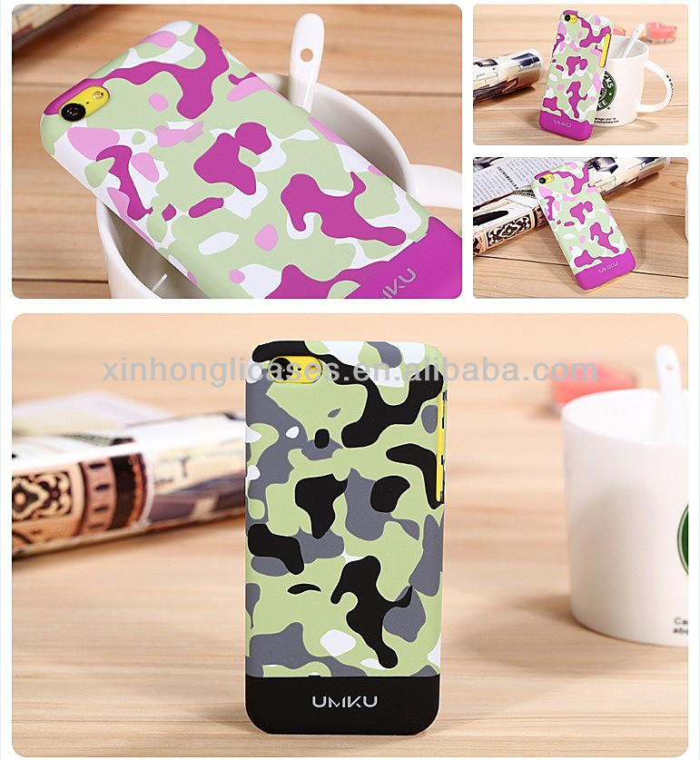 China manufacture Camouflage series phone case cover for iphone