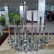 intake and exhaust engine valve, spare engine part, valve spindle for komatsu