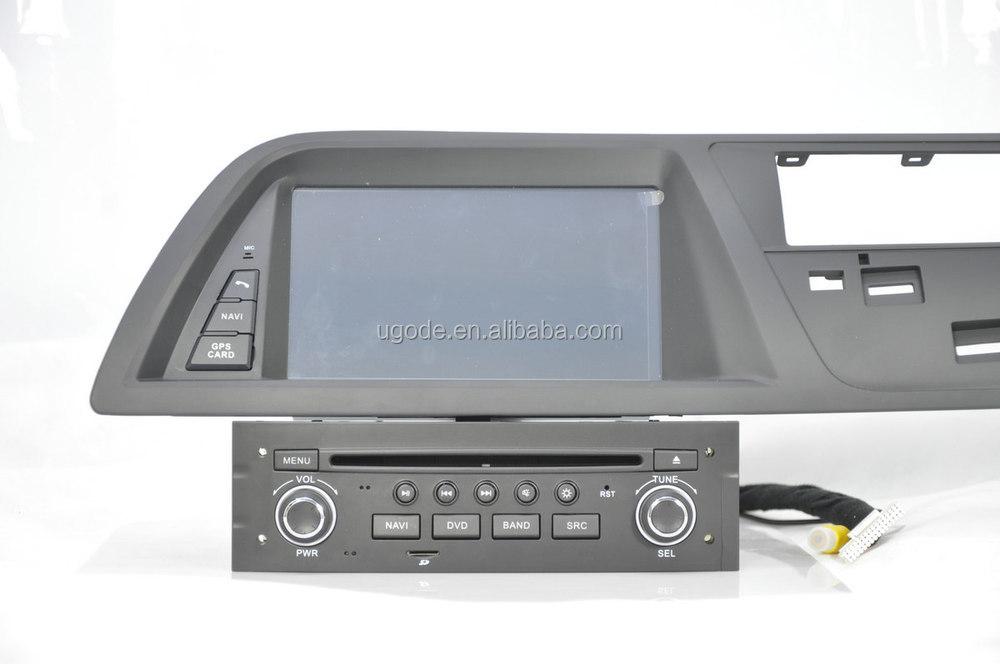 for citroen c5 car dvd gps navigation system buy citroen. Black Bedroom Furniture Sets. Home Design Ideas