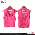 Spring new sleeveless gilet vest waist waistcoat with chain