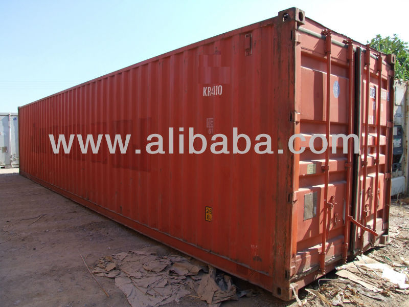 40'HC Used ISO container