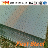 China supply High quality mild steel checkered plate size