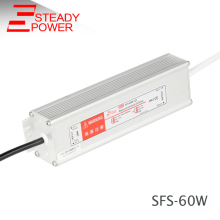 Steady 60 w constant voltage 12v 5a 60w ac to dc CCTV Camera/LED Strips/LCD power supply unit for led panel light driver