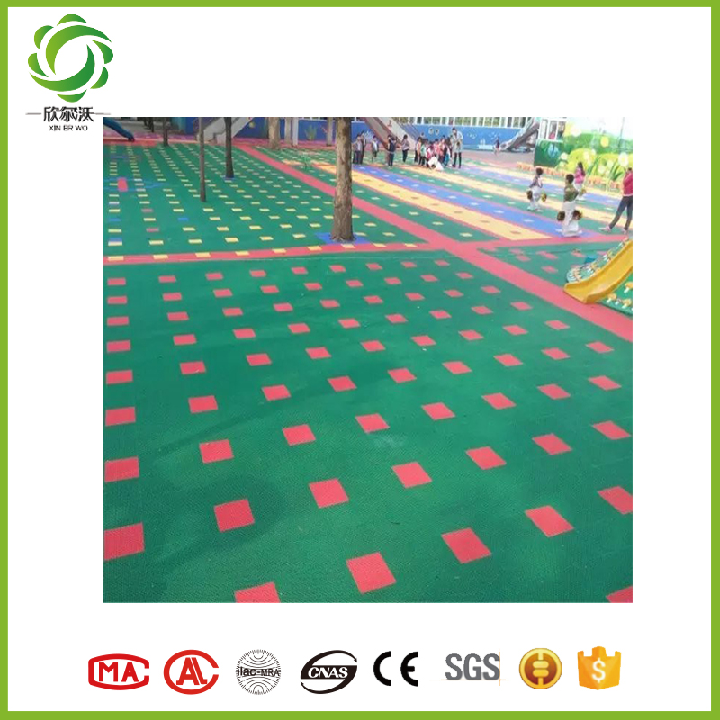 Xinerwo top quality synthetic basketball court flooring prices