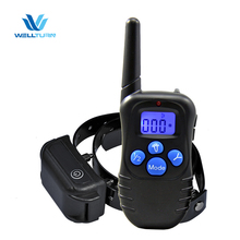 Factory Wholesale 998DBB 330 Yards Rechargeable Waterproof Electronic Barking Dog Alarm With Remote