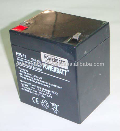 UPS Battery 12Volt 5Ah for UPS Backup System
