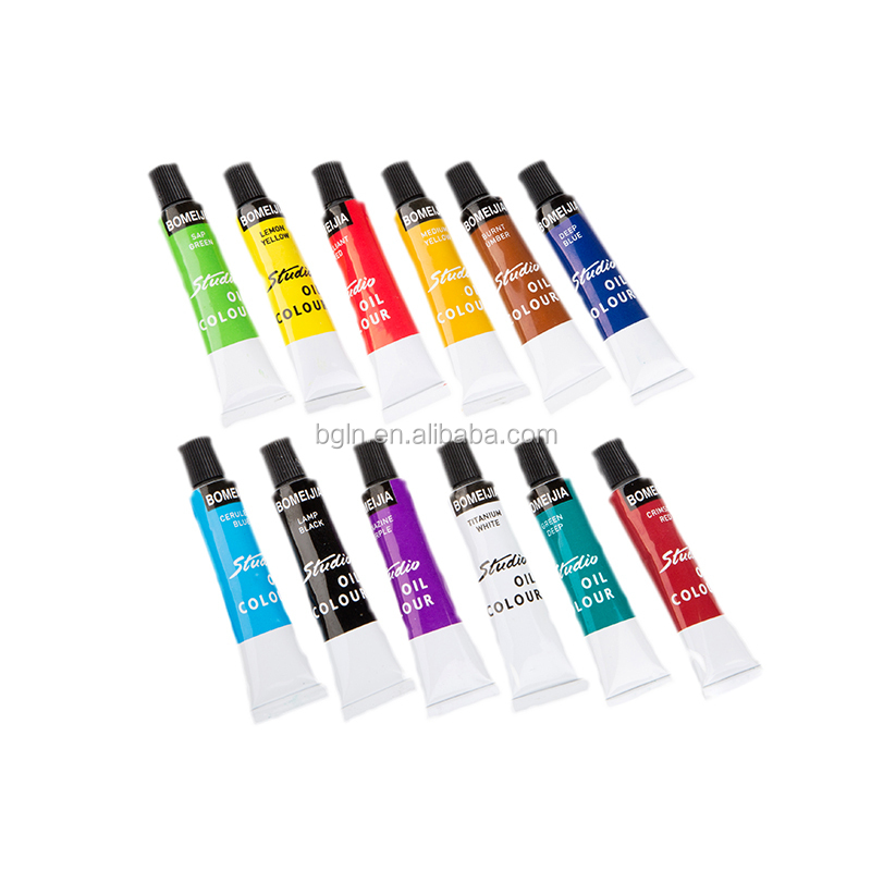 BOMEIJIA 12colors oil color paint set
