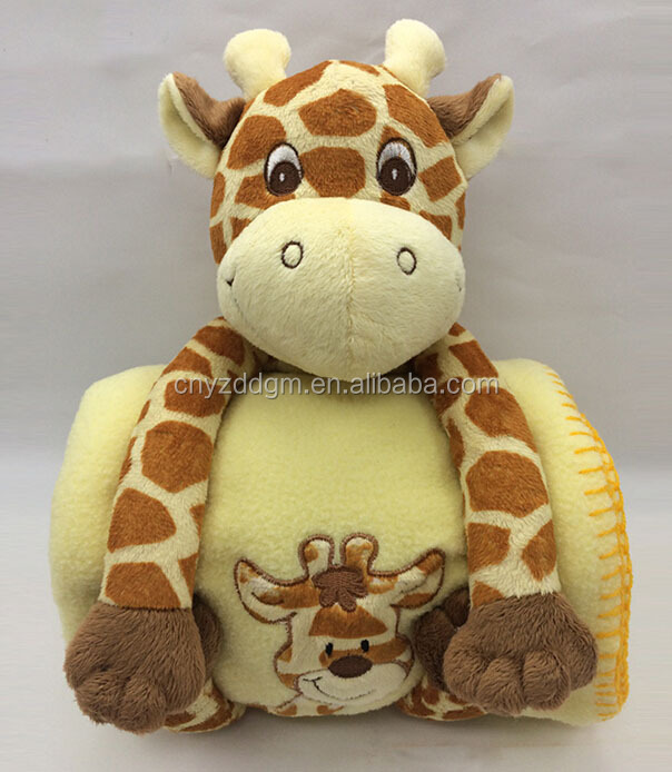 Plush Animal Pillow Blanket / Super Soft High Quality Animal Blanket Kids Polar Fleece Blanket ...