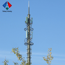 Factory Supplied Steel WIFI GSM Antenna Communication Monopole Tower