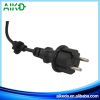 High quality top quality hot sale 2 pin european computer power supply plug
