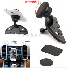 Universal Car Magnet GPS Cell Phone Magnetic CD Slot Mount Holder for Jiayu S3 for Samsung Galaxy S4 S5 S6 Edge