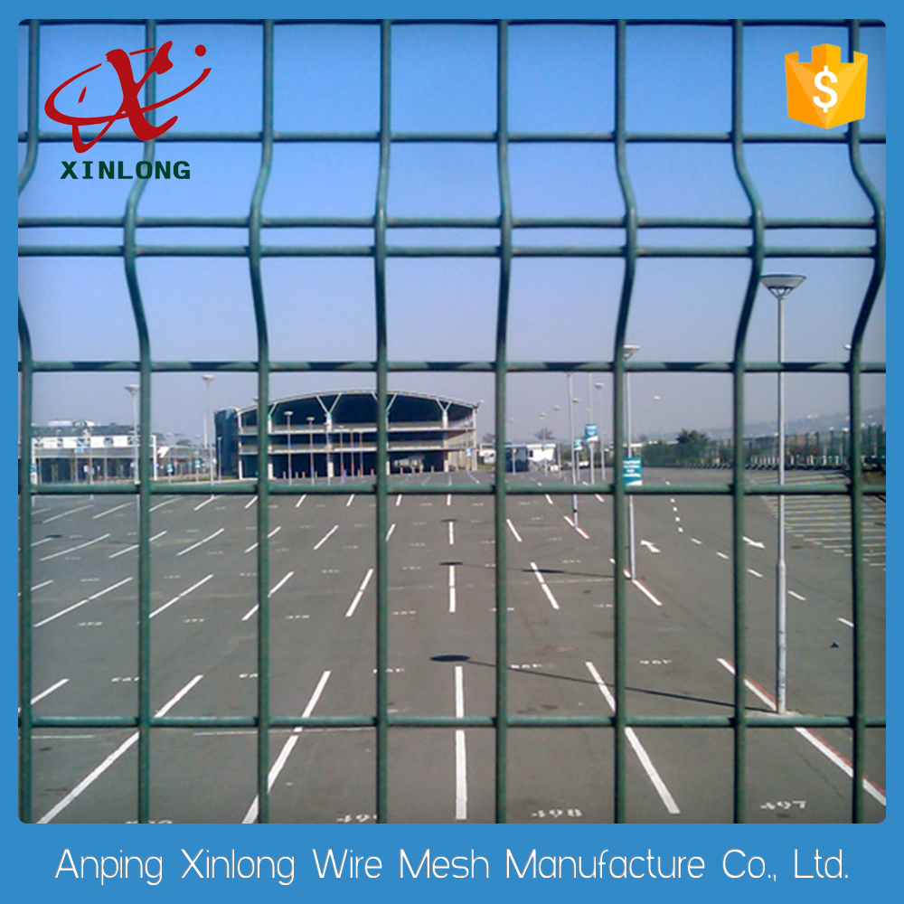 electric galvanized railway welded wire mesh fence / pvc coated 4.0mm mesh fence