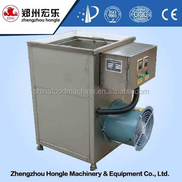 Hongle machine hot sell high quality fresh potato chips making machine/french frying machine with 100 kg/h