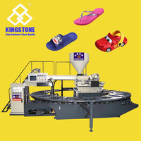 Rotary Type Injection Moulding Machine for making slipper and sandal