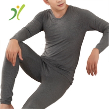 2017 Hot Sale mens Winter long sleeved heated thermal underwear