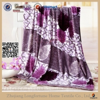 blanket made in china 100% polyester material