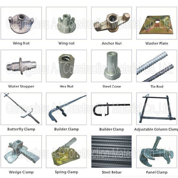 Various Type Wall Scaffolding Formwork Accessories Buy