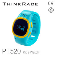Thinkrace PT520 model security area alarm for kids global gps tracking device