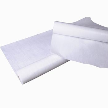 China recycled polyester white nonwoven felt