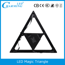 hot sale led 3D display madrix controlled flexible disco magic screen light
