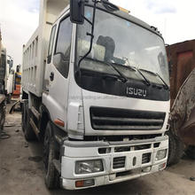 good price lSUZU Japan original CXZ81K used 10 ton dump truck for sale